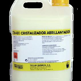 CTA-401 Cristalizador Abrillantador