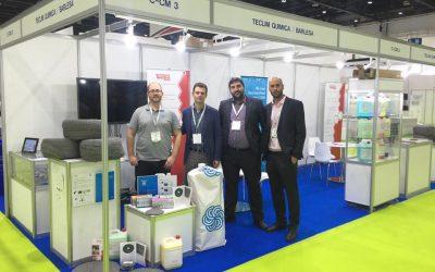 Teclim Química Internacional – Expositores en MECTW Dubai