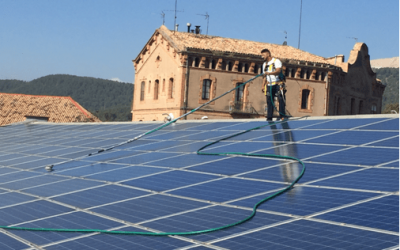 Casos de Éxito – Limpieza de Placas Solares – Optimización Rendimiento