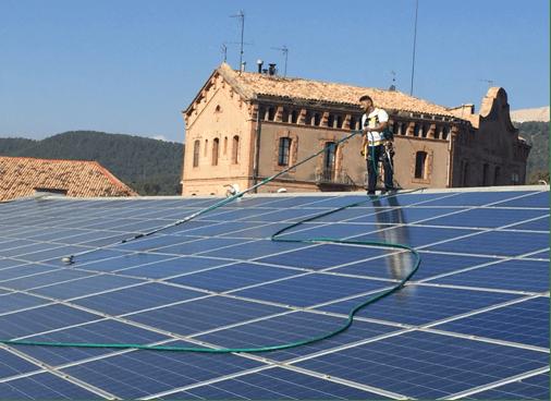 Exemples de réussite – Nettoyage des panneaux solaires – Optimisation des performances